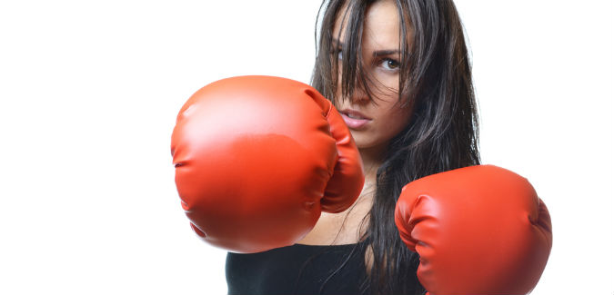 taking cardio kickboxing classes