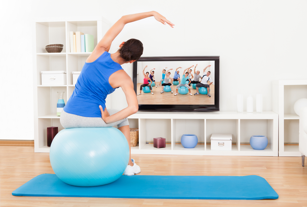 best workouts while watching tv