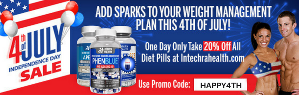 July Fourth Diet Pill Promotion IH